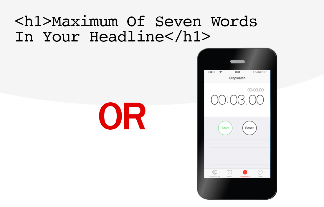 7 Words or 3 Seconds