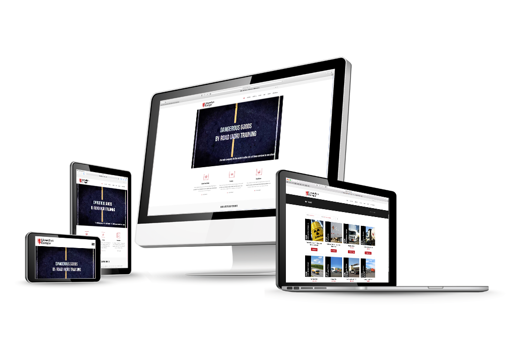 Responsive website design for Llewellyn Europe by Media Identity